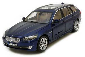BMW 5-SERIES 550I STATION WAGON (F11) 2010 BLUE