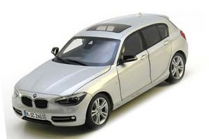BMW F20 1 Series 5-door 2012 Silver Special Edition By BMW