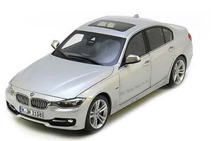 BMW F30 3-Series 2012 Silver
