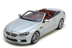 BMW F12 M6 Convertible 2012 Light Blue Metallic