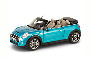 MINI COOPER S CONVERTIBLE (F57) 2016 METALLIC BLUE