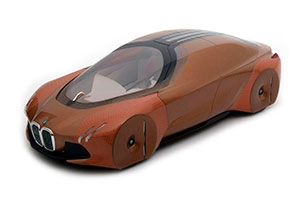 BMW VISION NEXT 100 CONCEPT CAR 2016 COPPER