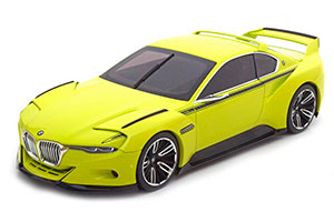 BMW 3.0 CSL HOMMAGE 2015 YELLOW SPECIAL EDITION BY BMW