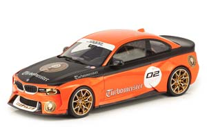 BMW 2002 HOMMAGE COLLECTION TURBOMEISTER ORANGE WITH BLACK