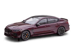BMW G16 M8 GRAN COUPE 2021 VIOLET METALLIC LIMITED EDITION 500 PSC
