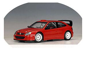 Citroen Xsara WRC Plain body Version 2004 Red