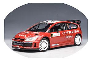 Citroen C4 WRC 2007 Loeb/Elena Winner Rally Monte Carlo World Champion Rally