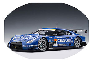 NISSAN GT-R 2008 CALSONIC MATSUDA/PHILIPPE #12 SUPER GT