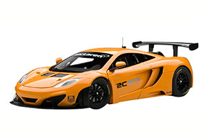 MCLAREN MP4-12C GT3 PRESENTATION CAR 2011 METALLIC ORANGE