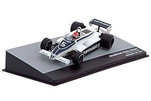 BRABHAM BT49C N.PIQUET GERMANY GP 1981 #5 WORLD CHAMPION