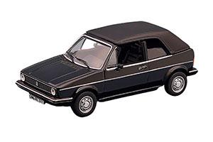 VW GOLF I CABRIOLET 1981 BLACK *ФОЛЬКСВАГЕН ФОЛЬЦВАГЕН