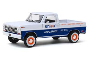 FORD F-100 PICK-UP UNION 76 1968 WHITE/BLUE *ФОРД ФОРТ