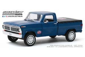 FORD F-100 PICK-UP STP 1970 BLUE *ФОРД ФОРТ