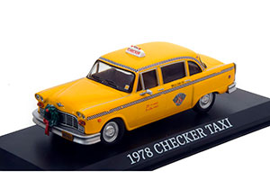 CHECKER TAXI CAB 1978 (FROM MOVIE NEW CHRISTMAS TALE) *ЧЕКЕР