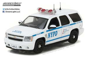 CHEVROLET TAHOE NEW YORK CITY POLICE DEPARTMENT (NYPD) 2012