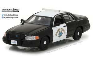 FORD CROWN VICTORIA POLICE INTERCEPTOR CALIFORNIA HIGHWAY PA...