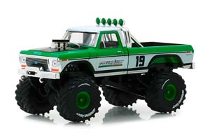 FORD F-250 MONSTER TRUCK BIGFOOT #19 GREENLIGHT RACING TEAM 1974 *ФОРД ФОРТ