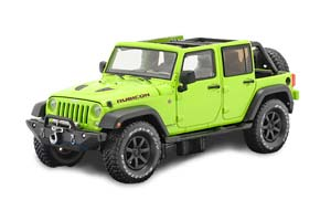 JEEP WRANGLER 4X4 UNLIMITED RUBICON HARD ROCK 5-DR HARD TOP 2016 HYPER GREEN