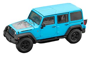 JEEP WRANGLER 4x4 UNLIMITED BIG BEAR 5-DR HARD TOP 2017 BLUE