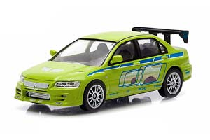 MITSUBISHI LANCER EVO VII 2002 2 FAST & 2 FURIOUS (FROM THE MOVIE DOUBLE FAST AND THE FURIOUS) *МИЦУБИШИ МИТСУБИСИ МИТСУБИШИ МИТСУБИСИ