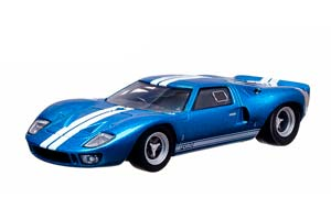 FORD GT40 1966 BLUE FAST & FURIOUS: FAST FIVE (FROM THE MOVIE V SHAPE) *ФОРД ФОРТ