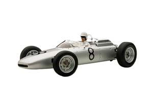 PORSCHE 804 F1 1962 JO BONNIER NUERBURGRING #8 WITH FIGURINE