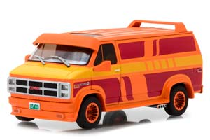 GMC VANDURA CUSTOM (VAN) 1983 ORANGE WITH CUSTOM GRAPHICS *ДЖИ ЭМ СИ