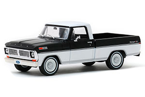 FORD F-100 PICK-UP 1970 RAVEN BLACK/PURE WHITE *ФОРД ФОРТ