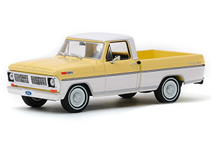 FORD F-100 PICK-UP 1970 PINTO YELLOW/PURE WHITE *ФОРД ФОРТ