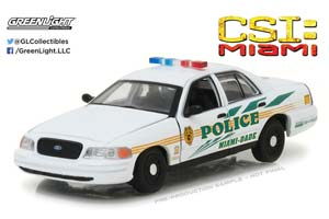 FORD CROWN VICTORIA POLICE INTERCEPTOR MIAMI-DADE POLICE 200...