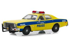 PLYMOUTH FURY PORT AUTHORITY OF NEW YORK & NEW JERSEY POLICE 1977 YELLOW