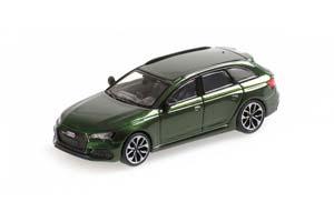 AUDI RS4 AVANT 2018 GREEN METALLIC