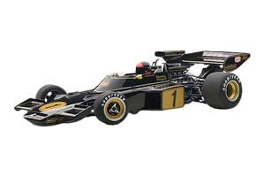 Lotus 72 E Fittipaldi #1 With Driver Figurine Fitted Composite Model/No Openings 1973
