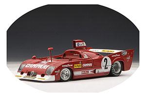 Alfa Romeo 33 TT 12 1975 Pescarolo/Bell Winner Spa
