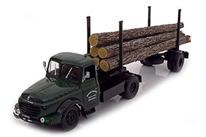 WILLEME LD610 FARDIER WOOD TRANSPORTER 1956 DARK GREEN/BLACK