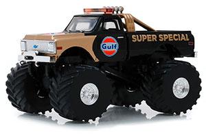 CHEVROLET K-10 MONSTER TRUCK BIGFOOT GULF OIL SUPER SPECIAL 1971 *ШЕВРОЛЕ ШЕВИ ШЕВРОЛЕТХ