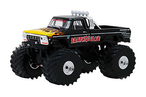 FORD F-250 MONSTER TRUCK EARTHQUAKE 1975 66 INCH WHEELS *ФОРД ФОРТ