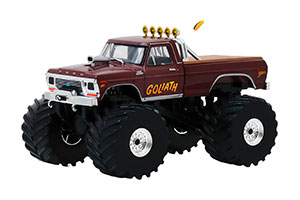 FORD F-250 MONSTER TRUCK GOLIATH 1979 66 INCH WHEELS *ФОРД ФОРТ