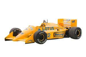 LOTUS 99T F1 #12 MONACO GP WINNER 1987 AYRTON SENNA