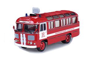 PAZ 672M FIRE STAFF (USSR RUSSIAN BUS) 1982 1989 | ПАЗ 672М ПОЖАРНЫЙ ШТАБНОЙ *ПАЗ ПАВЛОВСКИЙ АВТОЗАВОД