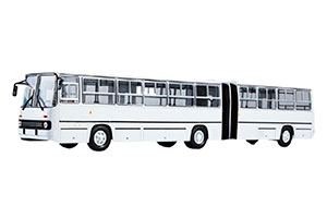 IKARUS 280 PLANETARY DOORS (USSR RUSSIAN BUS) 1980 WHITE | ИКАРУС 280 ГАРМОШКА ПЛАНЕТАРНЫЕ ДВЕРИ