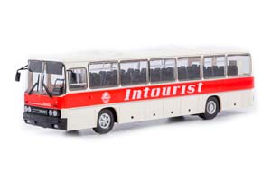 IKARUS-250.59 USSR RUSSIAN BUS) 1985 RED/WHITE | ИКАРУС-250.59 INTOURIST КРАСНО-БЕЛЫЙ *ЭКАРУС ИКАРУС