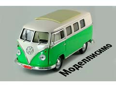 VW VOLKSWAGEN BULLI T1 MICROBUS 1962 LIGHT GREEN/CREME