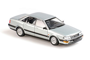 AUDI V8 1990 GREY METALLIC