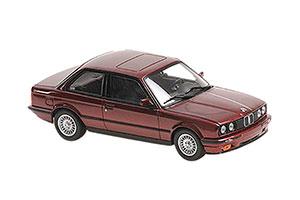 BMW 3-SERIES (E30) 1989 RED METALLIC