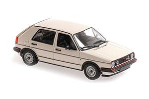 VW VOLKSWAGEN GOLF GTI 4-DOOR 1986 WHITE