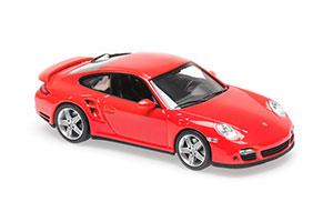 PORSCHE 911 TURBO (997) 2006 RED