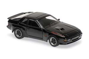 PORSCHE 924 GT 1981 BLACK