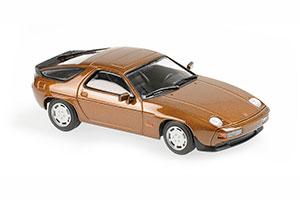 PORSCHE 928 S 1979 BROWN METALLIC