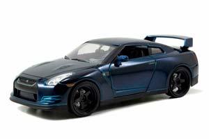 NISSAN GT-R (R35) YEAR 2009 FAST AND FURIOUS 7 2015 DARK BLUE *НИССАН НИСАН